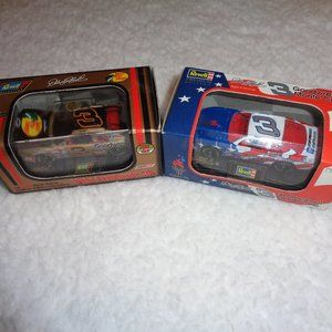 Dale Earnhardt Olympic & Bass Pro 1/64 Revell Cars